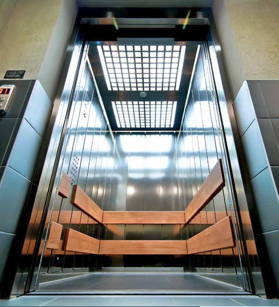 Kleemann Atlas Gigas keleivinis / keleivinis – krovininis liftas