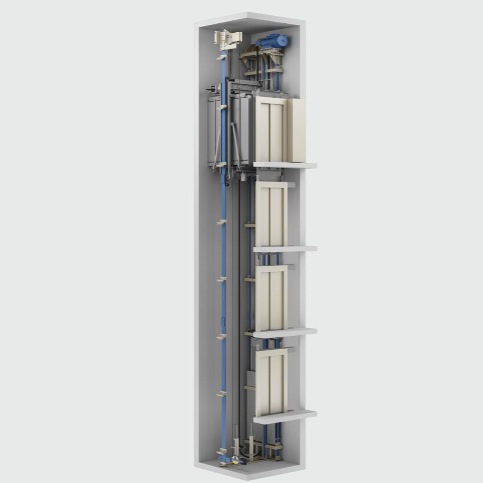 Kleemann HRS MRL (didelio greičio, didelio aukščio)  keleivinis liftas