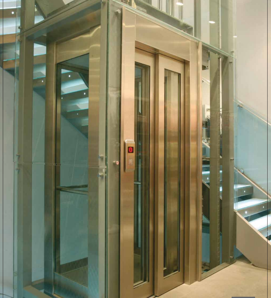 Kleemann Flexy lift MRL hidraulinis keleivinis liftas