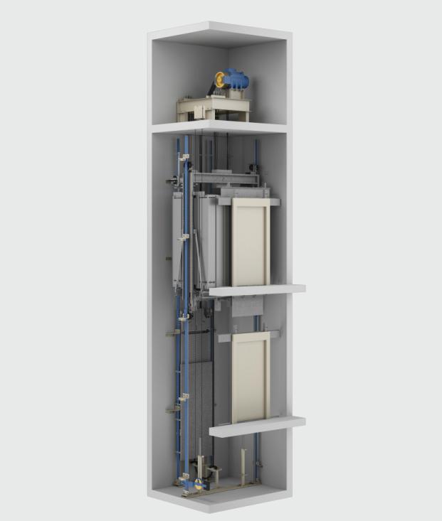 Kleemann HRS MR (didelio greičio, didelio aukščio)  keleivinis liftas
