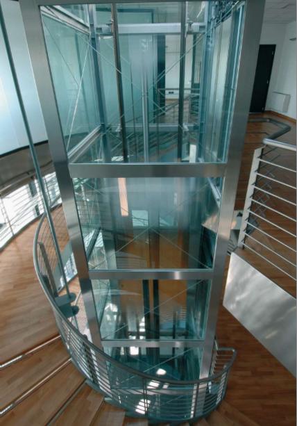SELE hidraulinis liftas Idro su mašinų patalpa arba įrenginių spinta